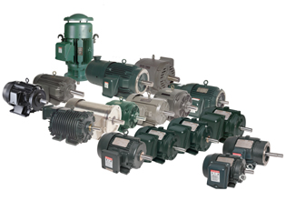 motores a bajo voltaje toshiba